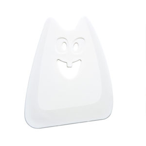 2999 525 HANS szpatułka do ciasta marki KOZIOL - kolor biały