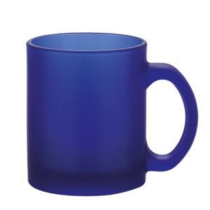 0972 Frozen Colour blue szklany kubek reklamowy