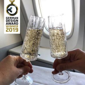 3400 CLUB no 5 nagrodzone kieliszki do szampana marki koziol