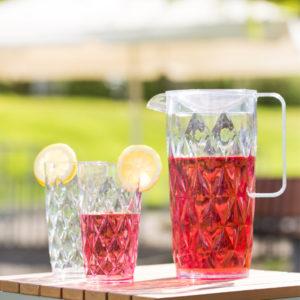 3544 Crystal L szklanka marki koziol z tworzywa sztucznego