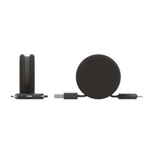 0115 czarny black MACARON adapter zwijany xoopar