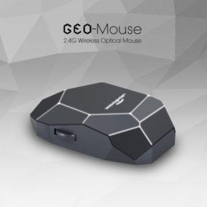 2300 GEO MOUSE bezprzewodowa mysz logo LED